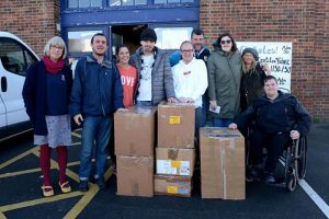 Green Days Students giving time to the local , wider and international communities by donating aid to Syria