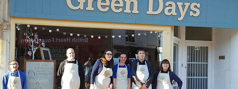 Green Days Work Placements - Green Days Shop
